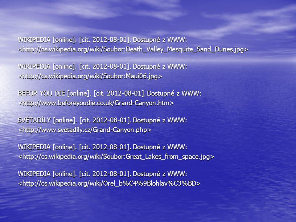 WIKIPEDIA [online]. [cit. 2012-08-01]. Dostupné z WWW: